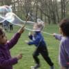 Riesenseifenblasen Zauberstab Spielzeug für Seifenblasen Seifenblasenfabrik