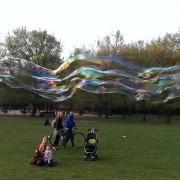 Spielzeug für Riesenseifenblasen Seifenblasenfabrik