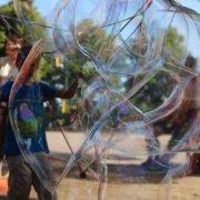 Diamant Spielzeug für Riesenseifenblasen