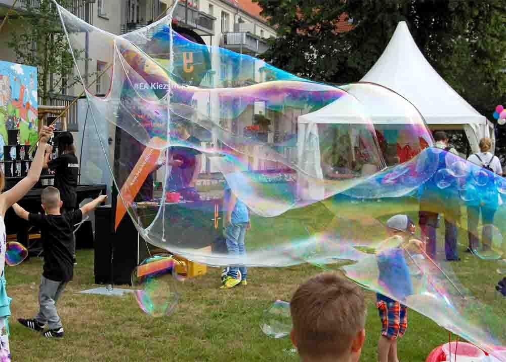 Drilling groß Spielzeug für Riesenseifenblasen