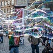 Schmetterling groß - Spielzeug für Riesenseifenblasen
