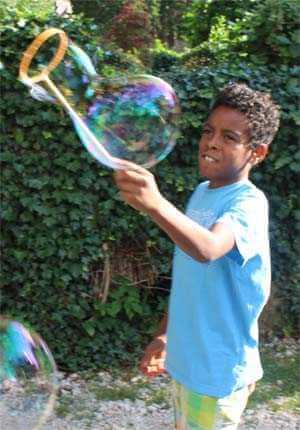 Kreis medium - Spielzeug für Seifenblasen