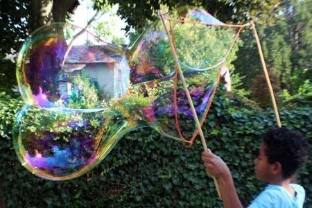 Zwilling medium Spielzeug für Riesenseifenblasen