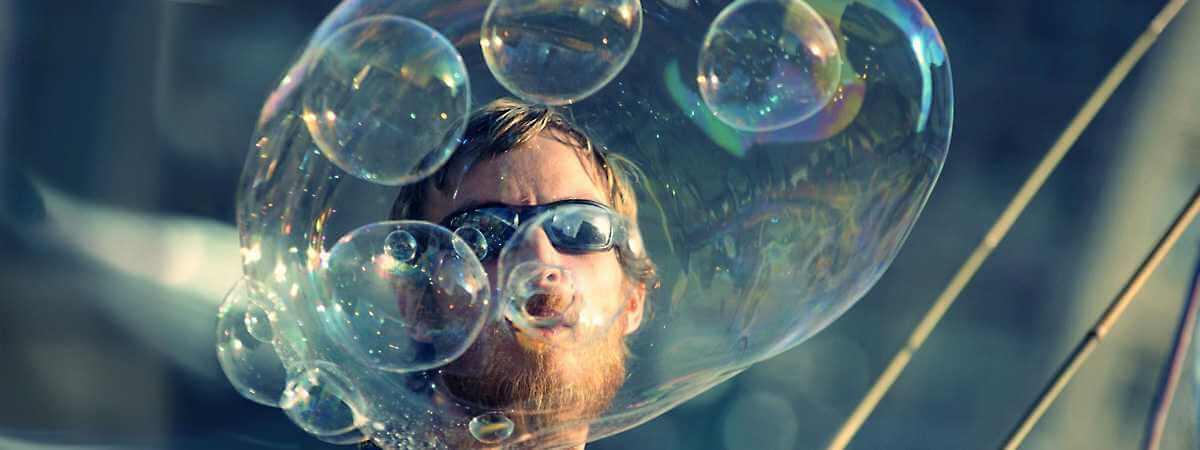 Riesenseifenblasen Seifenblasenkunst Bubblebo Seifenblasenfabrik