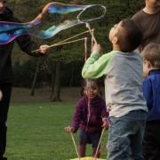 Riesenseifenblasen Zauberstab Kreis Spielzeug für Seifenblasen Seifenblasenfabrik